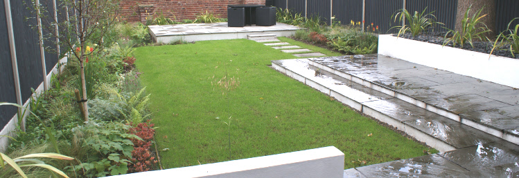 Didsbury geometric garden for Geometric garden designs